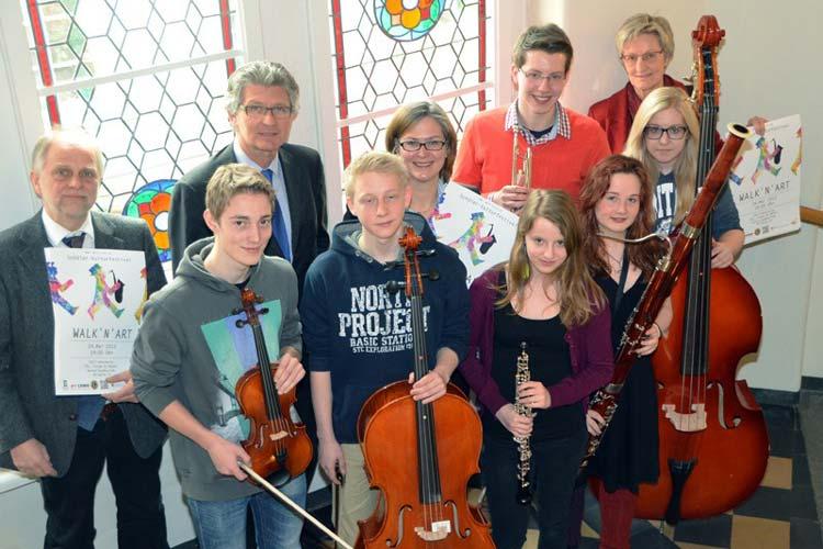 Zum fünften Mal präsentieren 800 Schüler und 30 Lehrer aus Oldenburg das Schülerkulturfestival Walk n Art.