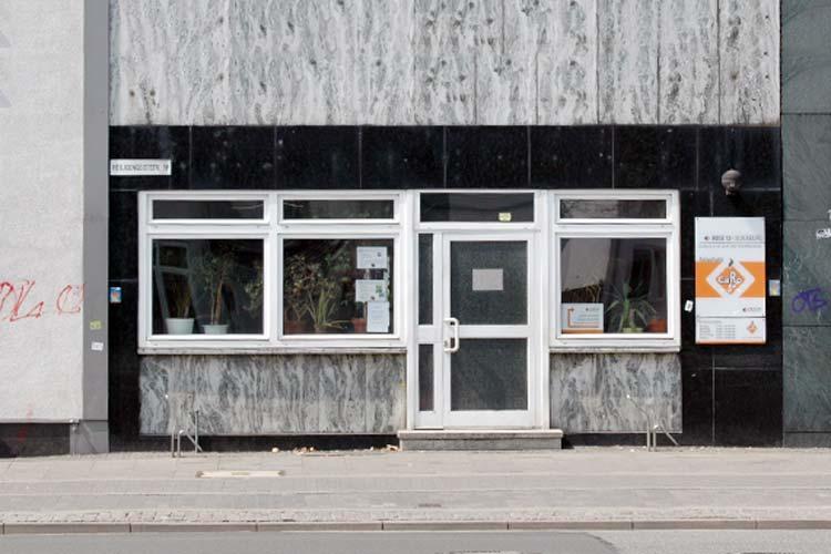 Das Café Caro an der Heiligengeiststraße in Oldenburg.