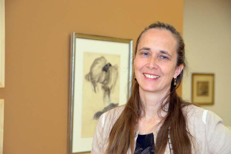 Annette Stumpf präsentiert ihre eigene Ausstellung, die sich mit ihrer achtmonatigen Liaison mit Horst Janssen befasst.