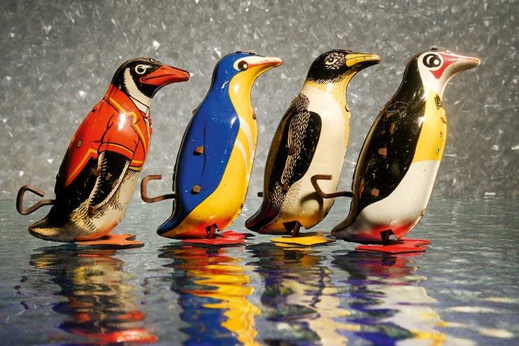 Mechanische Tierwelt heißt die jüngste Sonderausstellung im Landesmuseum für Natur und Mensch.
