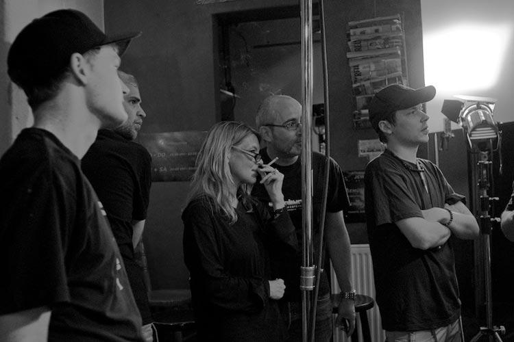 In der Oldenburger Kneipe Marvin's wird der neue Filmfest Trailer gedreht.