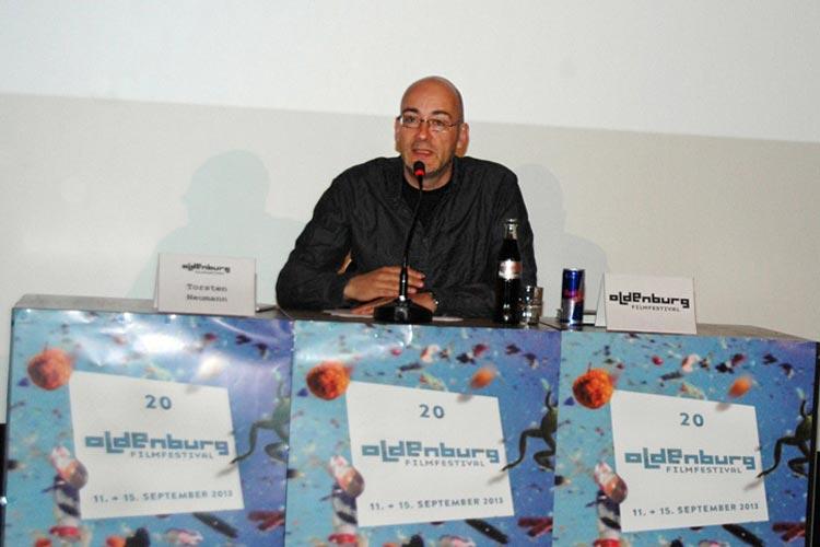 Torsten Neumann stellte Höhepunkte des diesjährigen Filmfest-Programmes vor.