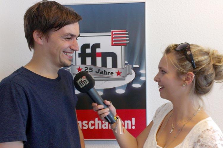 Freifeld-Initiator Lars Kaempf bei radio ffn.