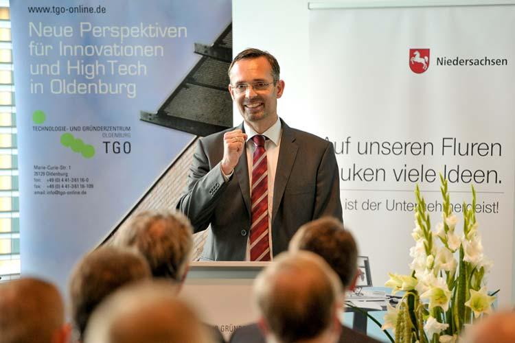 Das TGO feiert sein zehnjähriges Bestehen. Die Erfolgsgeschichte fing vor zehn Jahren mit Geschäftsführer Jürgen Bath an.