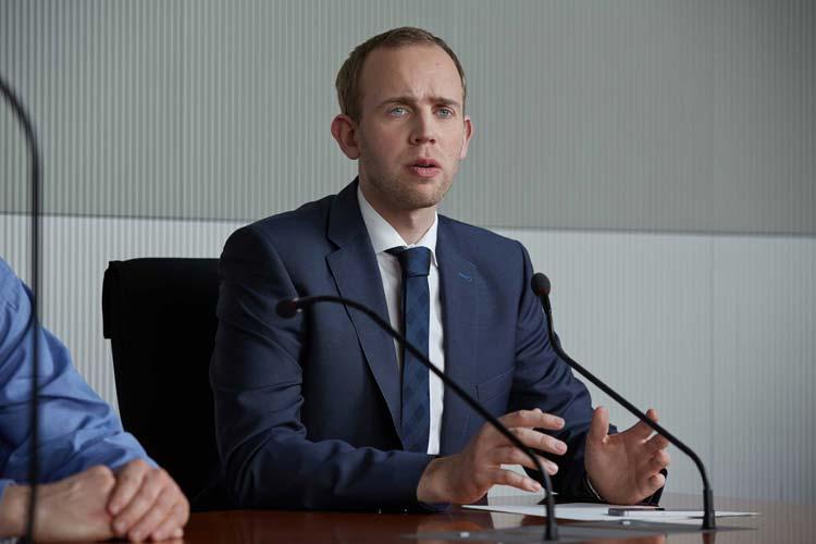 Dennis Rohde (SPD) ist nun offizielles Mitglied des Deutschen Bundestages.