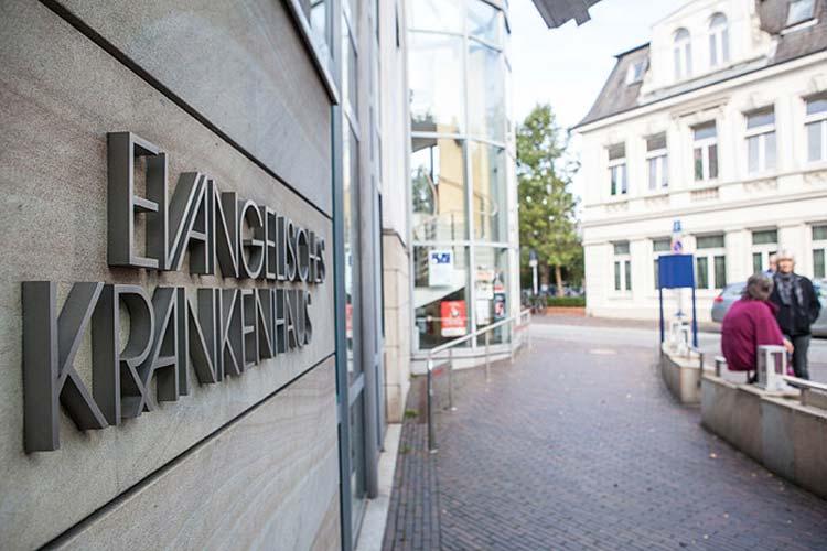 Dramatische Lage: Das Evangelische Krankenhaus schreibt tiefrote Zahlen.