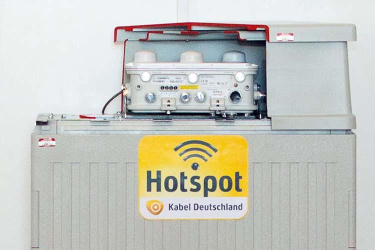 Die Hotspots mit einer WLAN-Haube werden auch in Oldenburg installiert.