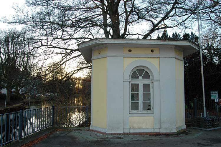 Das Pförtnerhaus des Schlossgartens am Schlosswall will die Künstlerin zum Jubiläum beleben.