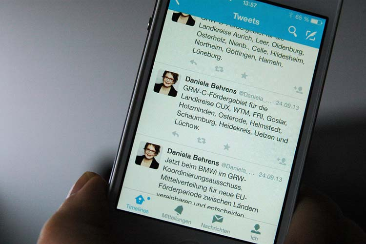 Der Landtagsabgeordnete Rainer Fredermann wunderte sich über die schnelle Information aus einer internen Sitzung via Twitter.
