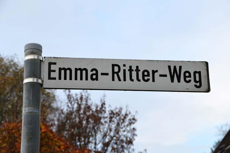 Die Malerin Emma Ritter ist eine von 74 Namenspaten, die in der fragwürdigen Liste auftaucht.