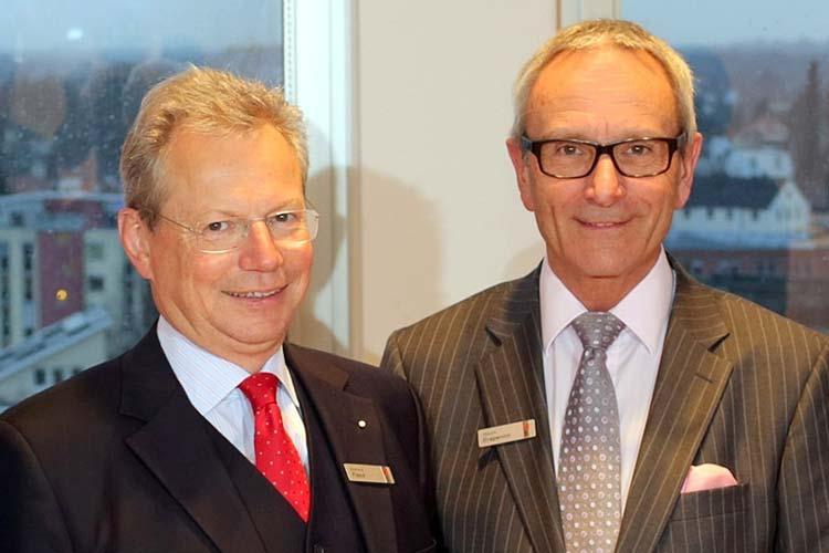Gerhard Fiand löst im November 2014 Martin Grapentin als LzO-Vorstandsvorsitzenden ab.