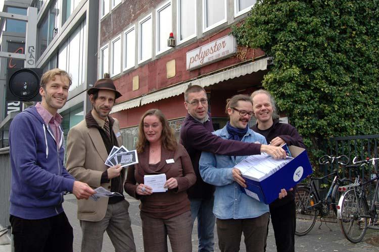 Das Polygenos-Team hofft auf breite Unterstützung aus der Bevölkerung.