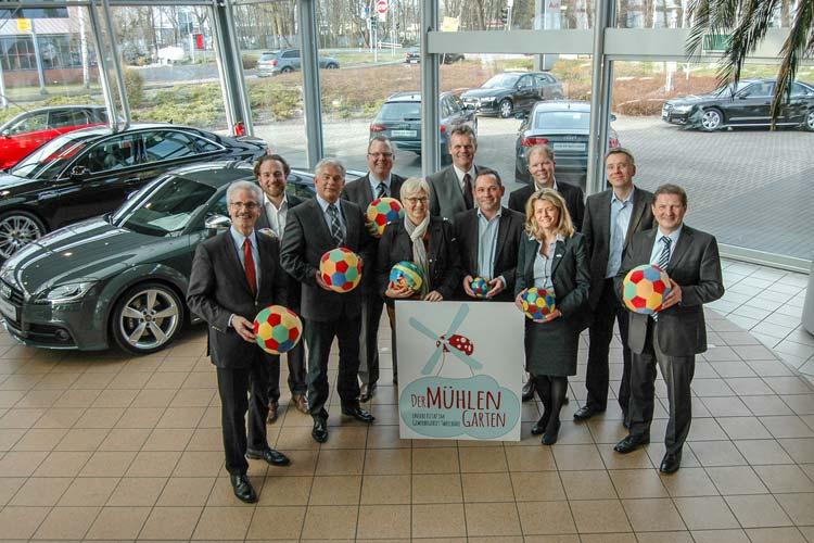Im Oldenburger Gewerbegebiet Tweelbäke haben 14 Unternehmen die erste genossenschaftlich geführte KiTa KiTaP Mühlengarten eG gegründet.