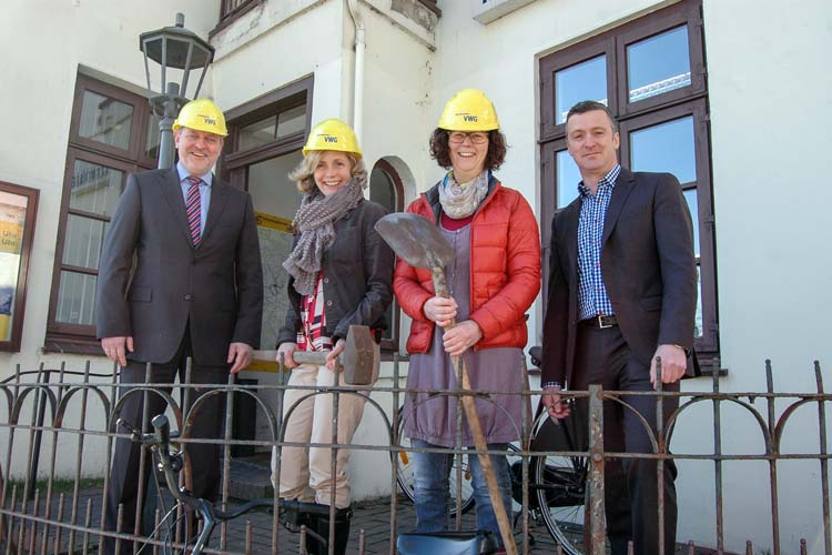 Die Mobilitätszentrale in der Oldenburger Innenstadt wird umgebaut.