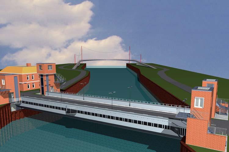 Für manch einen Oldenburger ist ein modernes Bauwerk anstelle der alten Cäcilienbrücke kaum vorstellbar. Studierenden der Jade Hochschule fällt das weniger schwer. Sie konstruierten ihre Modelle und präsentierten sie der Öffentlichkeit.