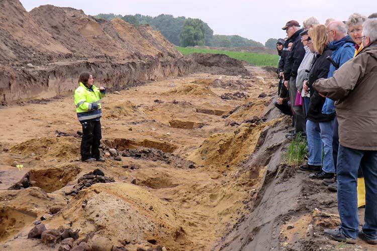 rchäologische Veranstaltungen zu den Ausgrabungen in Ganderkesee-West werden im Herbst stattfinden.