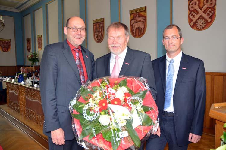 Manfred Kurmann ist neuer Präsident der Handwerkskammer Oldenburg. Eckhard Stein und Stefan Cibis sind die neuen Vizepräsidenten.