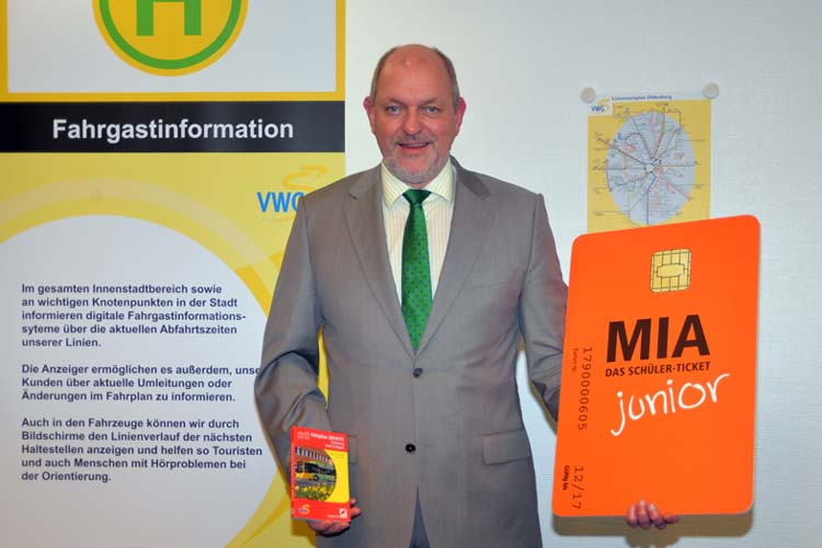 Der Geschäftsführer der VWG, Michael Emschermann, informierte über den Fahrplanwechsel am 15. Juni. Die VWG will weiter an pünktlichen Buslinien arbeiten.