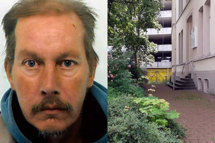 Die Leiche des 54-Jährigen wurde auf den Stufen des Hauses Wallstraße 17 aufgefunden.