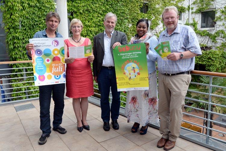 Der Arbeitskreis Oldenburg für Afrika hat einen Afrikatag organisiert. Erstmals findet der Undugu-Tag im Rahmen des Kultursommers statt.