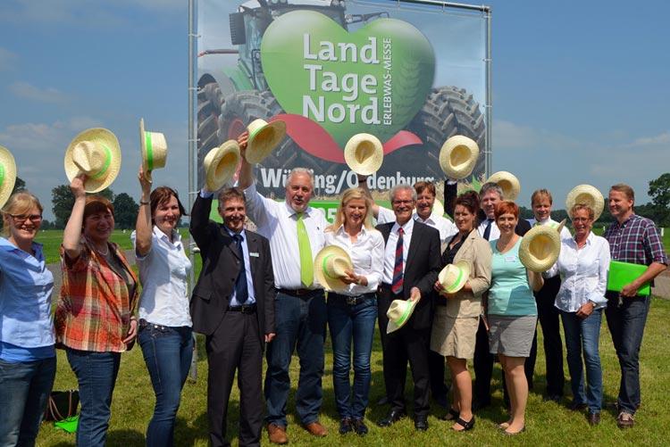 Das Team der LandTageNord erwartet rund 70.000 Besucher in Wüsting.