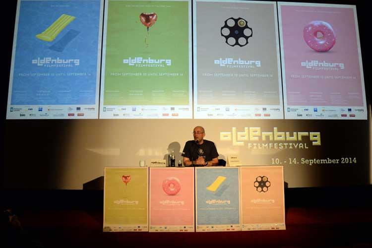 Festivalleiter Torsten Neumann berichtete heute über die Neuigkeiten zum Filmfest.