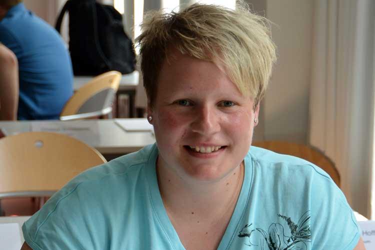 Anika Cordes studiert Public Health an der Jade Hochschule.