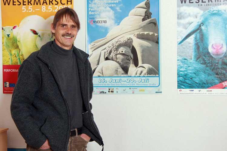Uwe Schwettmann gründete vor 24 Jahren Kultur nord.