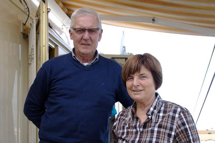 Theo Rosenzweig und seine Eltern Peter und Marlies Rosenzweig, geb. Steiger, führen den Betrieb.