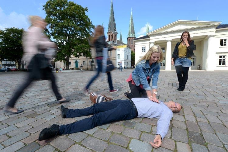Oldenburg rettet Leben heißt ein Aktionstag, der am 15. Oktober auf dem Schlossplatz stattfindet.