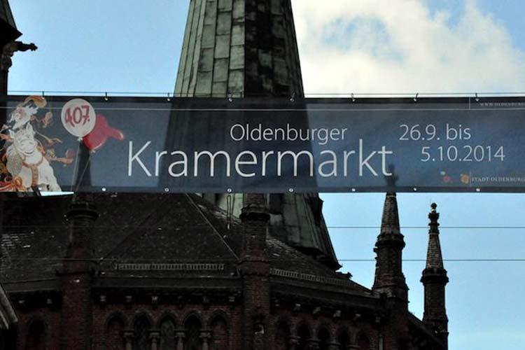 Am Freitag, 26. September, beginnt der 407. Oldenburger Kramermarkt. Es wird mit mehr als einer Million Menschen gerechnet.