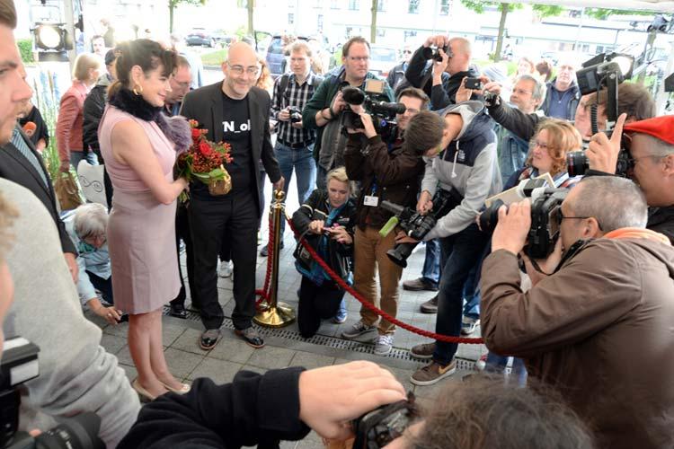 Der dritte Filmfesttag steht traditionell im Zeichen des Walk of Fames.