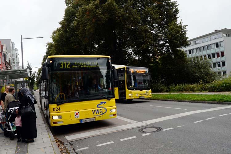 Die VWG unterstützt mit kostenlosen Busfahrten das ehrenamtliche Engagement von Bürgern in Oldenburg.