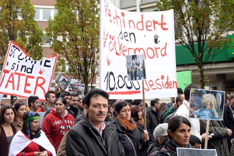 Zu einer Demo gegen Terror in Syrien und Nordirak hat das Yezidische Forum Oldenburg für Sonnabend, 25. Oktober, um 12 Uhr aufgerufen. Die Veranstaltung beginnt mit einer Kundgebung am Bahnhof.