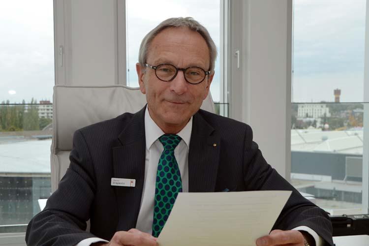 LzO-Vorstandsvorsitzender Martin Grapentin verabschiedet sich in den Ruhestand.