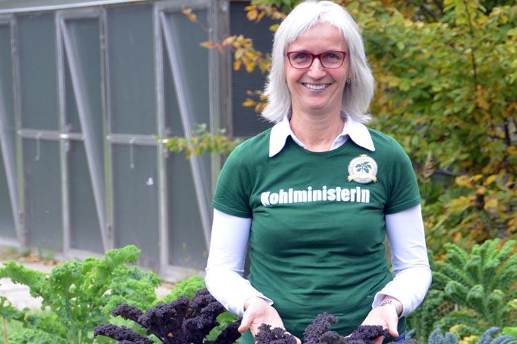 OTM-Geschäftsführerin Silke Fennemann will den Oldenburger Grünkohl auch für Oldenburg-Touristen interessant machen.