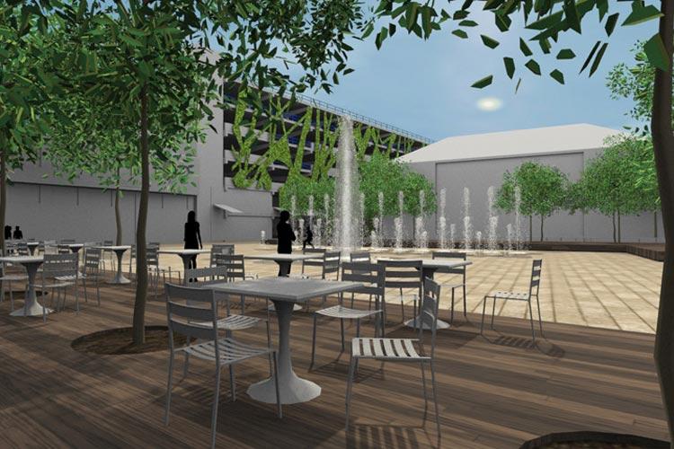 Der neue Waffenplatz wird modern und urban.