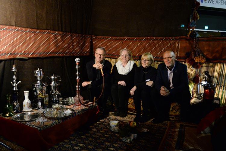 Die Kunst- und Antiquitätenmesse Nostalga wird in diesem Jahr um zwei weitere Messen ergänzt. Vom 24. bis zum 26. Oktober finden parallel die Herbst & Winterzauber sowie die Kunst & Handwerk in den Weser-Ems Hallen statt.