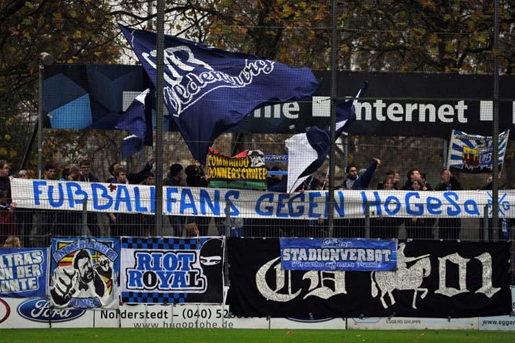 Der VfB Oldenburg sagt #nohogesa bei uns.