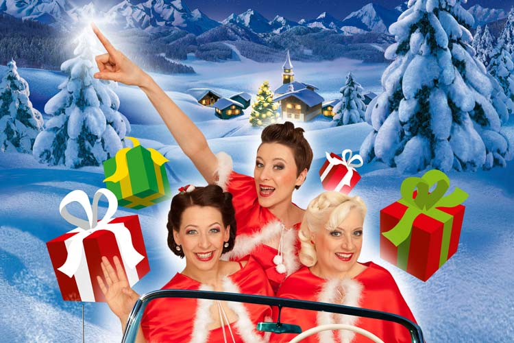 Sweet Sugar Swing laden am 19. Dezember zur Show Ho Ho Ho – Swingin' Santa is coming to Oldenburg! in die Oldenburger Kulturetage ein.