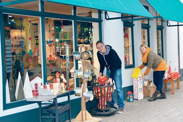 Das Kaufhaus der Werkstätten mit seinem hochwertigen Angebot und zahlreichen Arbeitsplätzen für Menschen mit Beeinträchtigung zieht im März an den Julius-Mosen-Platz.