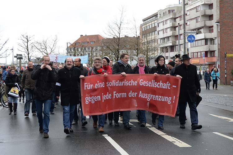 Am Samstag setzen die Oldenburgerinnen und Oldenburger im Rahmen einer Demo wieder ein Zeichen gegen Ausgrenzung.