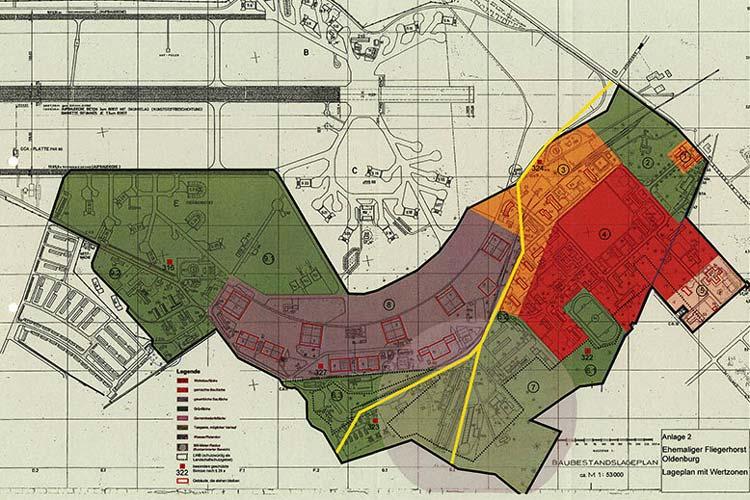 Die Oldenburger Stadtverwaltung wünscht sich von den Bürgern Vorschläge für die 16 Hektar Wohnen, acht Hektar Wohnen und Gewerbe sowie 23 Hektar Gewerbefläche auf dem Fliegerhorst.