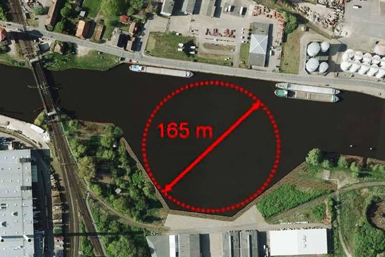 Der Bau des neuen Wendebeckens im Oldenburger Hafen soll bis 2018 abgeschlossen sein.