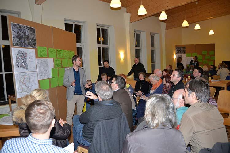 Rund 60 interessierte Osternburger beteiligten sich am Stadtteilworkshop, der im Rahmen des Stadtentwicklungsprogramms step2025 stattfand.
