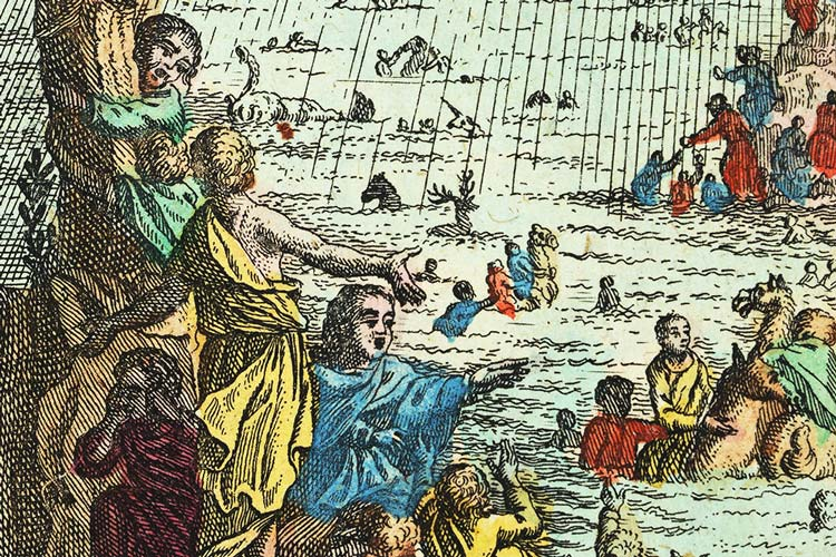 Die Sündfluth und Arche Noah, Biblia, Basel (1784).
