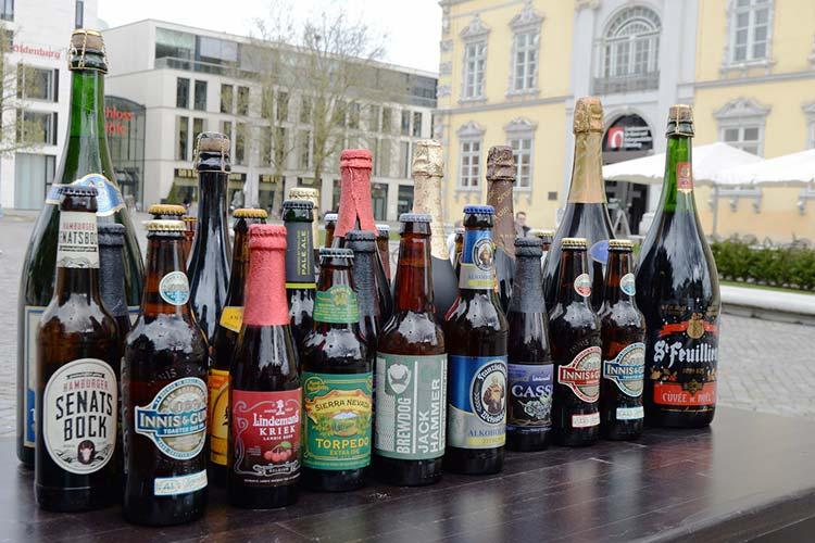 Rund 200 Biere aus 20 Ländern werden auf dem 1. Oldenburger Bierfest vertreten sein.