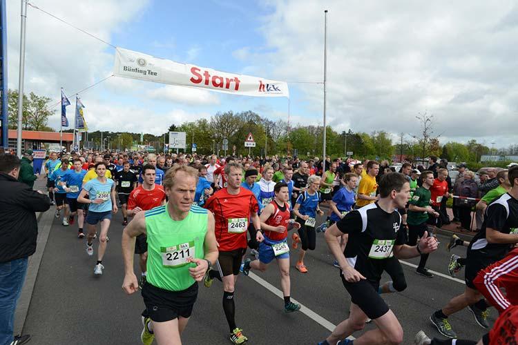 Der famila Lauf rund um das famila Einkaufsland in Oldenburg-Wechloy findet am Sonntag, 12. April, ab 10 Uhr bereits zum achten Mal statt.