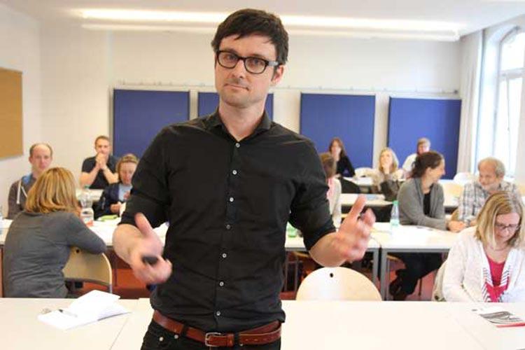 Dr. Christoph Kowalski referierte an der Jade Hochschule in Oldenburg über Versorgungsforschung in der Onkologie.