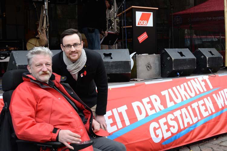 Frank Wegener und Jan Duscheck wollen die Zukunft der Arbeit gestalten.